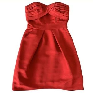 BCBGeneration Red Mini Dress with Pockets!